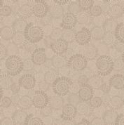 Lewis & Irene - Kimmeridge Bay - 6219 - Ammonites in Beige - A304.1 - Cotton Fabric